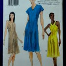 Vogue Pattern # 7084 UNCUT Misses Summer Lined Dress Size 8 10 12