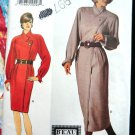 Butterick Pattern # 3669 UNCUT Misses Wrap Dress Length Variations Size 12 14 16
