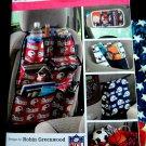 Simplicity Pattern # 3731 UNCUT Car Organizer Back Seat Visor Trunk Organizer Bag