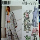 Simplicity Pattern # 5877 UNCUT Misses Pajamas Robe Pants Nightgown Size XXS XS Small
