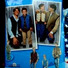 Simplicity Pattern # 2479 UNCUT Mens Boys Vest Vests Pocket Variations Sizes Small Medium Large XL