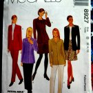 McCalls Pattern # 8927 UNCUT Misses Unlined Jacket Pants Skirt Size 8 10 12