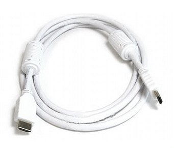 HDMI to HDMI Cable for Plasma and LCD Screen, 6 ft., White, $10.89