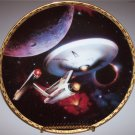 "Star Trek ""Voyagers"" Hamilton Collection Plate ""USS Enterprise NCC-1701"