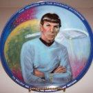 "Star Trek ""Mr. Spock"" 1983 Hamilton Collection Plate"
