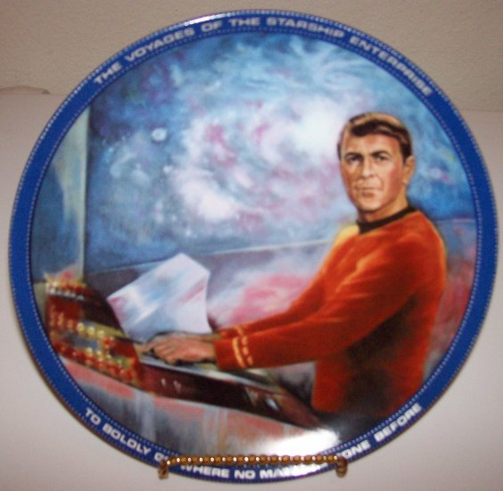"Star Trek ""Scotty"" 1983 Hamilton Collection Plate"