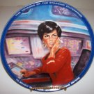 "Star Trek ""Uhura"" 1983 Hamilton Collection Plate"