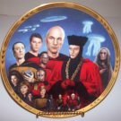 "Star Trek Next Generation ""Episodes-Encounter at Farpoint"" 1994 Hamilton Collection Plate"