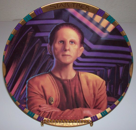 "Star Trek Deep Space Nine ""Chief Odo"" 1994 Hamilton Collection Plate"