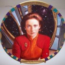 "Star Trek Deep Space Nine ""Major Kira Nerys"" 1994 Hamilton Collection Plate"