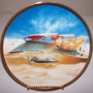 "Star Wars Space Vehicles ""Jabba's Sail Barge"" 1997 Hamilton Collection Plate"