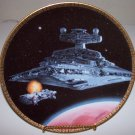 "Star Wars Space Vehicles ""Star Destroyer"" 1995 Hamilton Collection Plate"