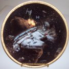 "Star Wars Space Vehicles ""Millennium Falcon"" 1994 Hamilton Collection Plate"