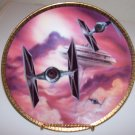 "Star Wars Space Vehicles ""Tie Fighters"" 1995 Hamilton Collection Plate"