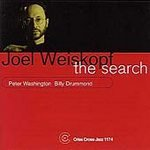 Joel Weiskopf Trio  (CD) The Search (Autographed to Bill)