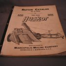 Minneapolis-Moline Repair Catalog No R-786H for 2 row Corn Husker.