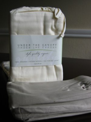 Under The Canopy Organic Cotton Standard Pillowcases - Natural