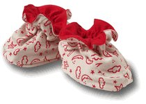 Sckoon Organic Baby Booties 2-6 months