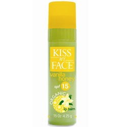 Kiss My Face Organic Lip Balms Vanilla Honey