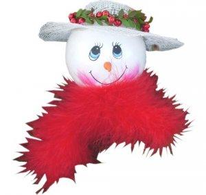 Snowlady Ornament