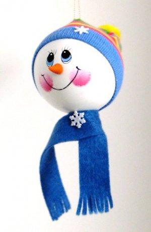 Snowkid Ornament