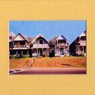MARTHA'S VINEYARD COTTAGES Enhanced Digital Photo Matted Print, Renee Rutana