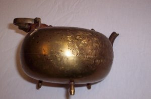 Brass Teapot made in India