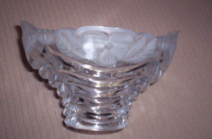 Cut Glass Candy Dish