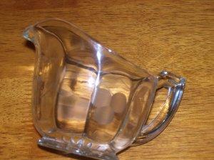 Cut Glass Creamer