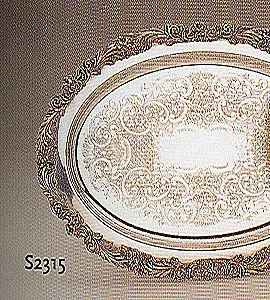 Reed & Barton Oval Tray