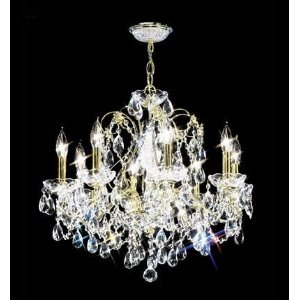 Promotion Collection No. 1 - 8 Lite Crystal Chandelier