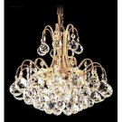 Crystal Jacqueline Three Light Mini Chandelier by James Moder Lighting