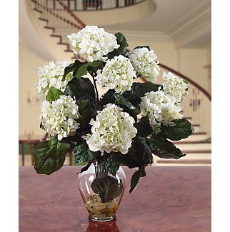 Hydrangea Liquid Illusion Silk Arrangement