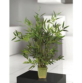 Bamboo Table Top Silk Tree