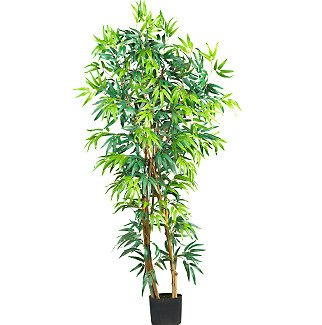 5' Fancy Style Bamboo Silk Tree