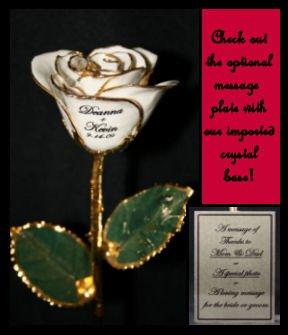 "The 11"" Wedding Rose"
