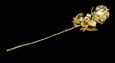 """11"""" All Gold Rosebud"""