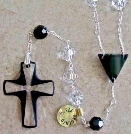 Perimeter Rosary Black