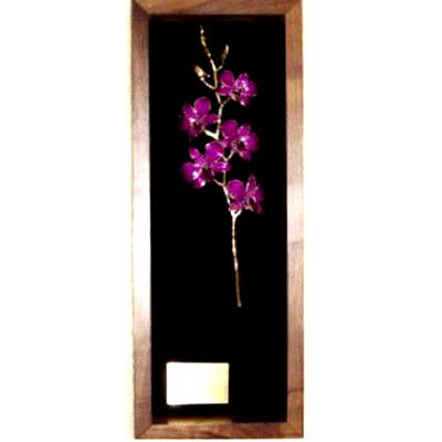 "14"" Orchid Remembrance Box"
