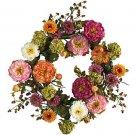 "24"" Peony Wreath"