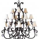 RICHMOND 15 LT CHANDELIER