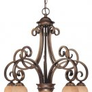 Medici - Five Light Chandelier by Dolan Lighting