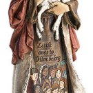 Jesus with Children Figurine