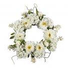 """20"""" Peony Hydrangea Wreath"""
