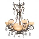 Barcelona 10 Lights Chandelier in French Marble