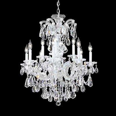 12 Light Maria Theresa Royal Chandelier