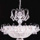 Crystal Vanessa Nine Light Chandelier