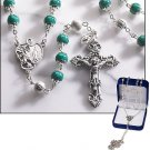Emerald Marble Rosary