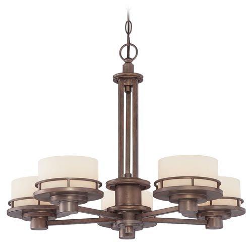 Dolan Designs Beacon Five Light Chandelier in Classic Bronze
