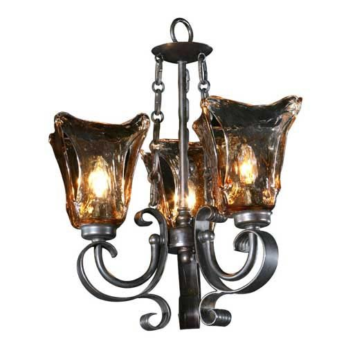Uttermost Vetraio Three-Light Chandelier